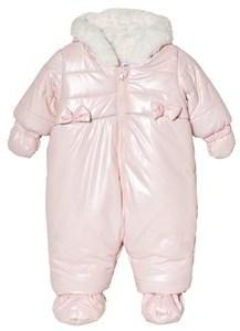 Absorba Hooded vinterdress Pink 3 months