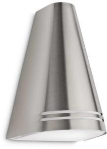 Philips myGarden Woods Vegglampe - Stål