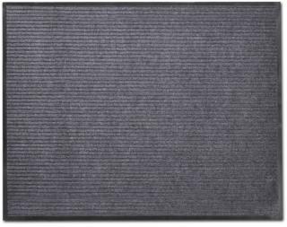 vidaXL Grå PVC Dørmatte 90 x 120 cm