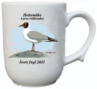 Hettemåke krus Årets fugl 2011