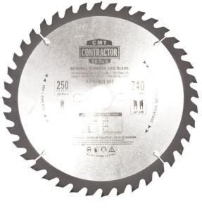 Sagblad for tre CMT 250x2,6x30 Z40 10°