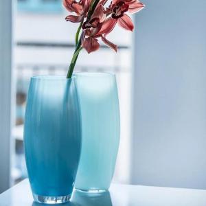 Magnor Zeppeliner vase blå 30 cm