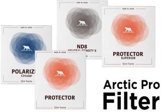 Arctic Pro filter ND-filter, Polarizer, Protector