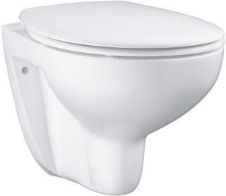 Toalett Grohe Vegghengt Bau Porselen