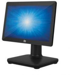 ELO EloPOS System, 15-inch wide, No OS, Core i3, 4GB RAM, 128GB SSD, Projected Capacitive 10-touch, Zero-Bezel, Antiglare, Black, No Stand, Wall Mount I/O Hub (E441781)