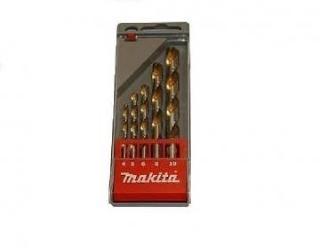 Borsett for metall Makita 4/5/6/8/10 mm 5 stk.