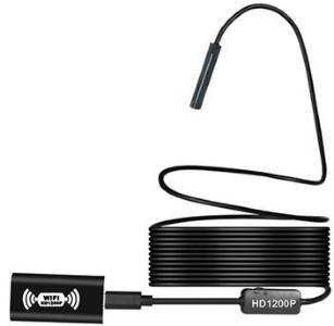Trådløs Inspeksjonskamera med WiFi Mottaker YPC110B - 5m
