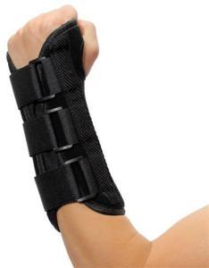Utvidet Håndleddsbeskyttelse med skinne - Høyre hånd