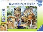 Ravensburger Puslespill XXL 300 Deler Delighted Dinos