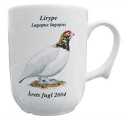 Lirype krus Årets fugl 2004