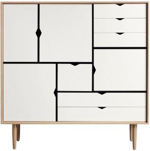 Andersen Furniture S3 Hvitoljet Eik / Hvit