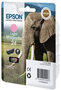 Epson 24 - lys magenta - original - blekkpatron (C13T24264020)