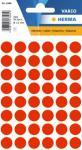 Herma Etikett Vario Ø 12 mm rød 4008705018661 (Kan sendes i brev)