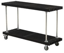 Grill/Avlastningsbord PLUS med Hjul