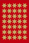 Herma Etikett dekor gullstjerne ø16mm Y442321 (Kan sendes i brev)