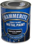 HAMMERITE METALLMALING GLATT SORT 750ML