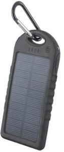 Solcellelader / Power Bank 5000 mAh