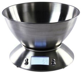 Digital kjøkkenvekt med skål
