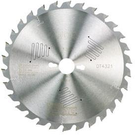 Sagblad for tre DeWalt 250x3x30,0 mm Z30 10°