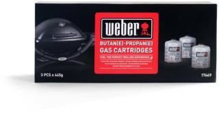 Weber Engangs gassflaske (445g) 3.pk.