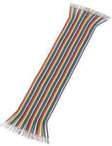 Luxorparts Koblingskabel med Quick-click, hunn-hunn 30 cm