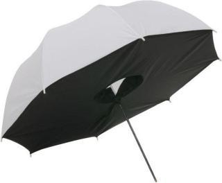 Paraplyboks Halvtransparent Hvit - 109 cm