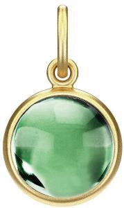 Julie Sandlau Prime Pendant - Gold Halskjede Anheng Grønn Julie Sandlau Women