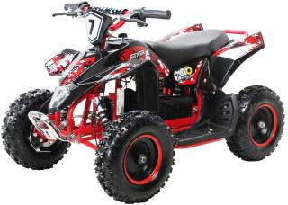 FOX XTR elektrisk ATV for barn 1000W sort og rød