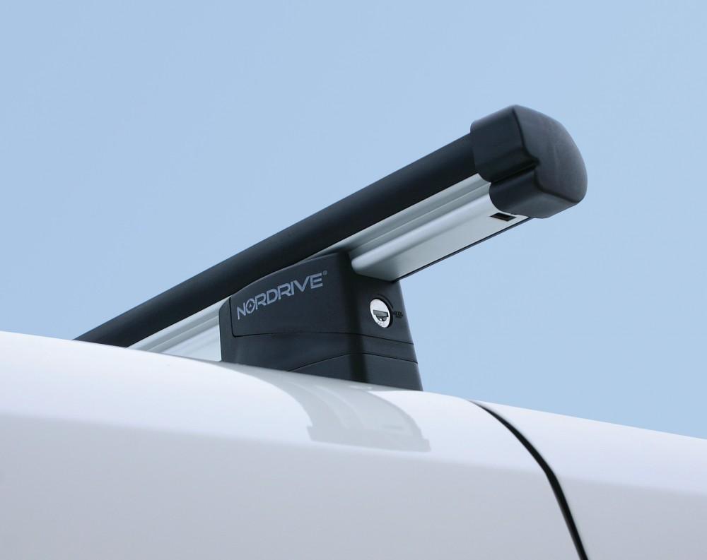 Nordrive Kargo-Plus ALU Proff takstativ - 3 stenger - Mercedes Vito Van 4 dr 04-14 (3 stenger, N10045*3/N30113)