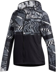 adidas Performance ADIZERO Sports jacket black crystal