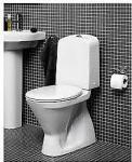 Gustavsberg Nordic 3500 Gulvst. toalett Skjult S-lås 3/6 liter.