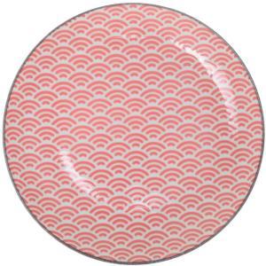 Asjett 23,8x2,6cm. Star-wave  Tokyo porselen