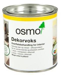 Dekorvoks transparent 3119 0,375 liter ibenholt 0,375 liter OSMO