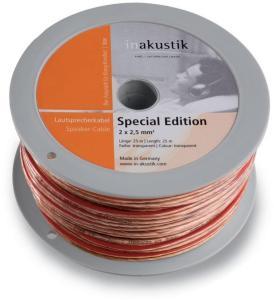 2,5 mm2 høyttalerkabel - 25 meter - In-akustik