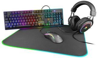 Deltaco Gaming 4-In-1 RGB Gaming Bundle