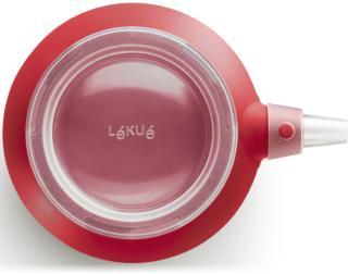 Lékué Decomax Dekorsprøyte Silikon Rød med seks munnstykker