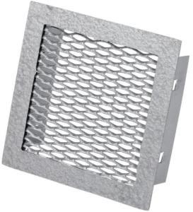 Duka Sokkelrist - 150x100 mm, støpt aluminium