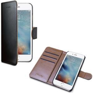 Celly Wally Wallet Case iPhone 7 Plus svart/brun WALLY801 Tilsvarer: N/A Celly