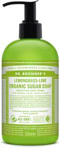 Lemongrass Lime Organic Sugar Soap 355 ml Dr. Bronner's