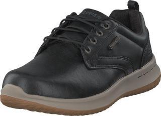 Skechers Mens Delson Blk, Sko, Sneakers og Treningssko, Sneakers, Svart, Herre, 41