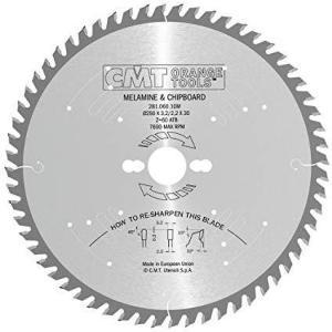 Sagblad for tre CMT 250x3,2x30,0 mm Z60 10°