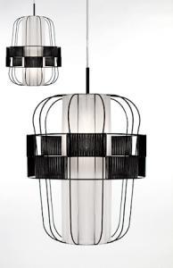 Globen Lighting Pendel Wind Svart