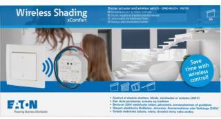 xComfort Wireless Shading Startpakke CPAD-00/214 4560762 xComfort GoWireless startpakker