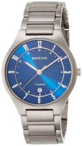 Bering 11739-707 Titanium Blå/Titan Ø39 mm