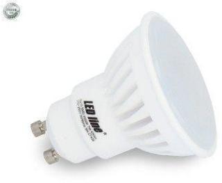 7W LED spot - Keramisk, 230V, GU10 - Kulør : Varm, Dimbar : Ikke dimbar