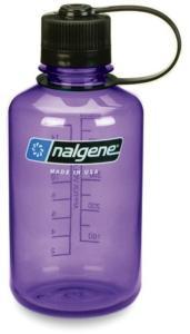 Nalgene Narrow Mouth Bottle 0,5L Tritan, Purple/Black, OneSize