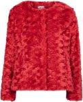 Saint Tropez Fuskepels Women Poppy red