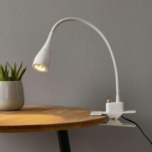 Klar Anka LED lampe med klemme og fleksibel arm