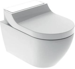 Vegghengt toalett Geberit Tuma Comfort + toalettsete