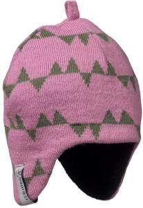 Isbjörn of Sweden Eaglet Knitted Cap, Dusty Pink, 48/50